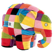 Elmer Large Soft Toy