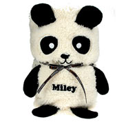 Personalised Panda Baby Blanket