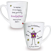 Purple Ronnie Godfather Latte Mug