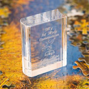 Miniature Engraved 1st Communion Book