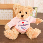 Personalised Communion Bear