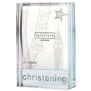 Christening Dinky Frame With Free Spaceform Gift Bag