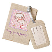 My  Passport  Cover and Tag Set (Kitten)