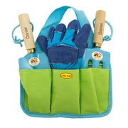 Personalised Gardening Tool Kit (Blue)