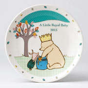 A Little Royal Baby Plate