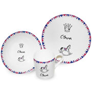 Royal Baby Bunting China Dinner Set