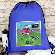 Bang On The Door Football Crazy P.E. Kit bag