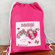 Bang Bang On The Door Groovy Chick Swim Bag, P.E Bag