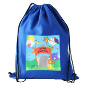 Personalised Zoo School P.E. Bag, Swim Bag, Kit Bag