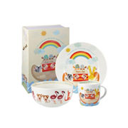 Noahs Ark 3 Piece China Breakfast Set