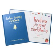 Personalised Twelve Days of Christmas Book Classic Edition