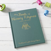 My Personalised Book of Children's Nursery Rhymes Hardcover
