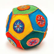 Extra Large Fair Trade Patchwork Ball by Barefoot Toys