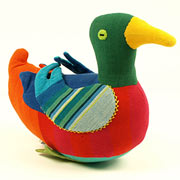 Large Fair Trade Duck by Barefoot Toys