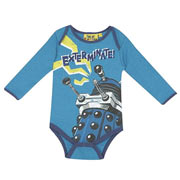 Limited Edition Dr. Who Dalek Babygrow (0 to 6 months)