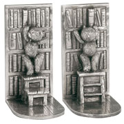 Teddy Bears Picnic Pewter Library Bookends Royal Selangor
