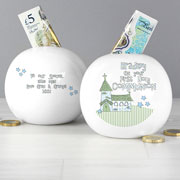 Whimsical Church 1st Holy Communion Moneybox - Boy or Girl