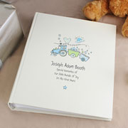 Whimsical Train Personalised Photo Album with Sleeves