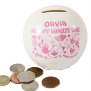Personalised My First Money Box - Girl