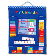 My Calendar Wall Chart Blue by Fiesta Crafts