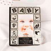 Personalised Engraved Baby Photo Album