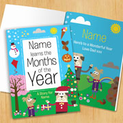 Personalised Months of the Year Children's Book