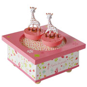 Trousselier Sophie la Girafe Spinning Music Box
