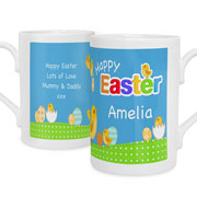 Personalised Easter Chick Mug With Mini Eggs