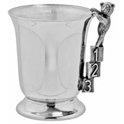 Childs Pewter ABC/123 Tankard