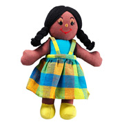 Lanka Kade Fair Trade Dolly - Black Skin