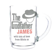 The Godfather Glass Tankard Exclusive