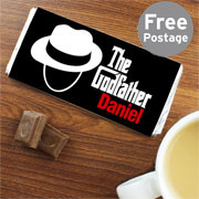 The Godfather Personalised Chocolate Bar Free Delivery