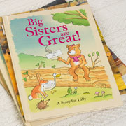 Big Sisters Are Great Personalised Children's Book