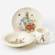 Flopsy Mopsy and Cotton Tail China Nursery Set