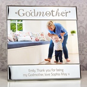 Silver Godmother Square 6 x 4 Frame