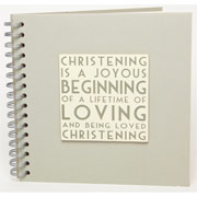 East of India Christening Guest Book