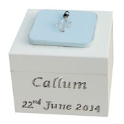 First Holy Communion Boys Rosary Box