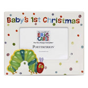 The Very Hungry Caterpillar Baby's 1st Christmas Photo Frame