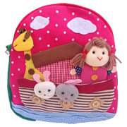 Medium Noah's Ark Girl's Backpack