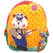 Large Cat Fisherman Backpack