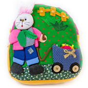 Medium Rabbit Gardener Girl's Backpack