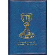 First Holy Communion Mass and Prayer Book - Blue