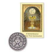 Communion Medal and Booklet
