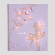 Fairies Personalised Illuminated Canvas