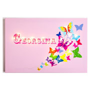Personalised Illuminated Butterflies Canvas
