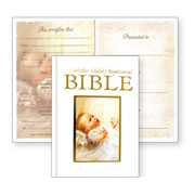 A Catholic Childs Baptismal Bible