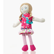 Pebble Fair Trade Rag Doll – Elsa