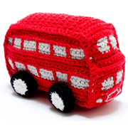 Crochet London Bus