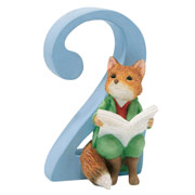 Foxy Whiskered Gentleman Number 2 Figurine