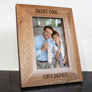 Daddy Cool Engraved Photo Frame 4x6 Inch